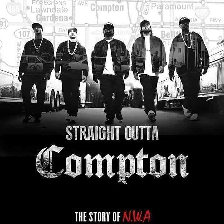 """ Check my #Cameo #CameraTime, for the ' STRAIGHT OUTTA COMPTON ' movie ""...."