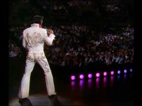 "Elvis Presley, Aloha From Hawaii concert, January 1973 - ""You Gave Me a Mountain.""  Powerful song, powerful performance. Elvis was the greatest!"