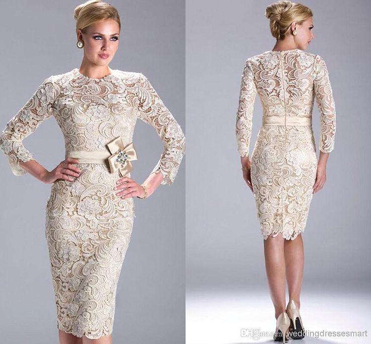 Модели платьев с рукавом из гипюра
