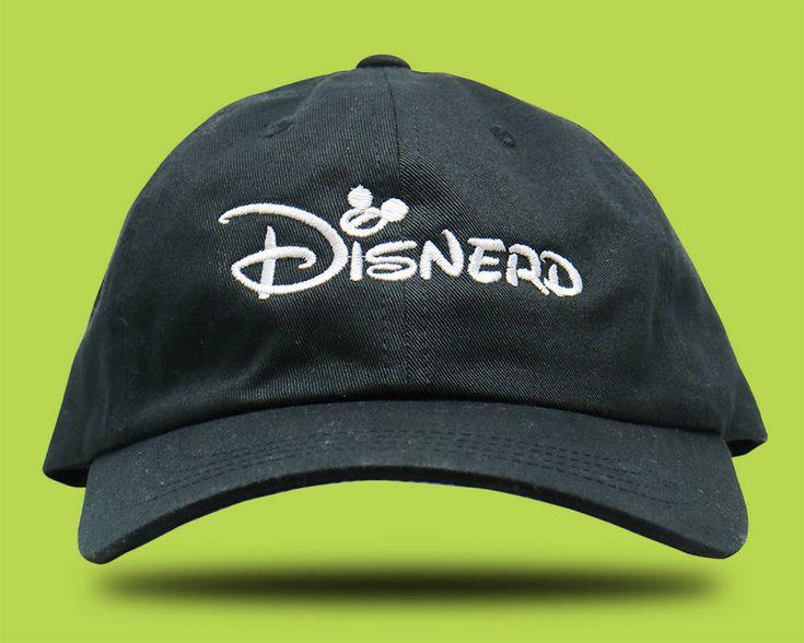 Disnerd / Disneyland Hat / Disney Hat / Walt Disney World Hat /  Disney Hat / Disney Baseball Hat / Disney Dad Hat / Disney World / Dad Hat by themaddesthatterco on Etsy https://www.etsy.com/listing/565900030/disnerd-disneyland-hat-disney-hat-walt