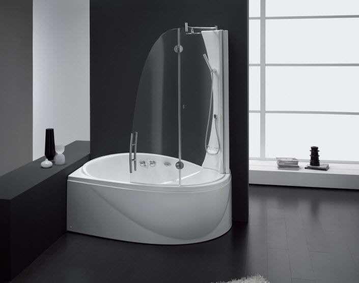 Oltre 25 fantastiche idee su Vasche doccia su Pinterest | Supporto ...