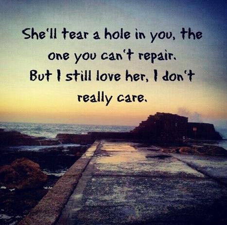Stubborn love--the lumineers. exactly how i feel