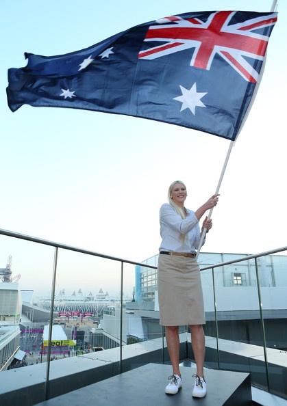 Lauren Jackson Photo - Australian Olympic Flag Bearer Announcement