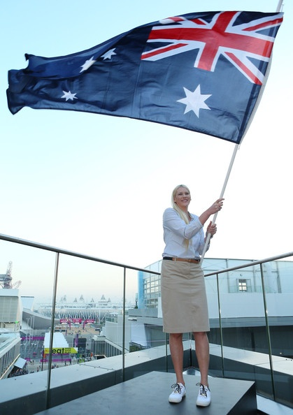 Lauren Jackson Photo - Australian Olympic Flag Bearer Announcement