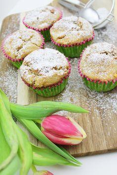 Leckeres Rezept für Low Carb Muffins | Bananen Haferflocken Muffins | Detoxing | Gesund essen