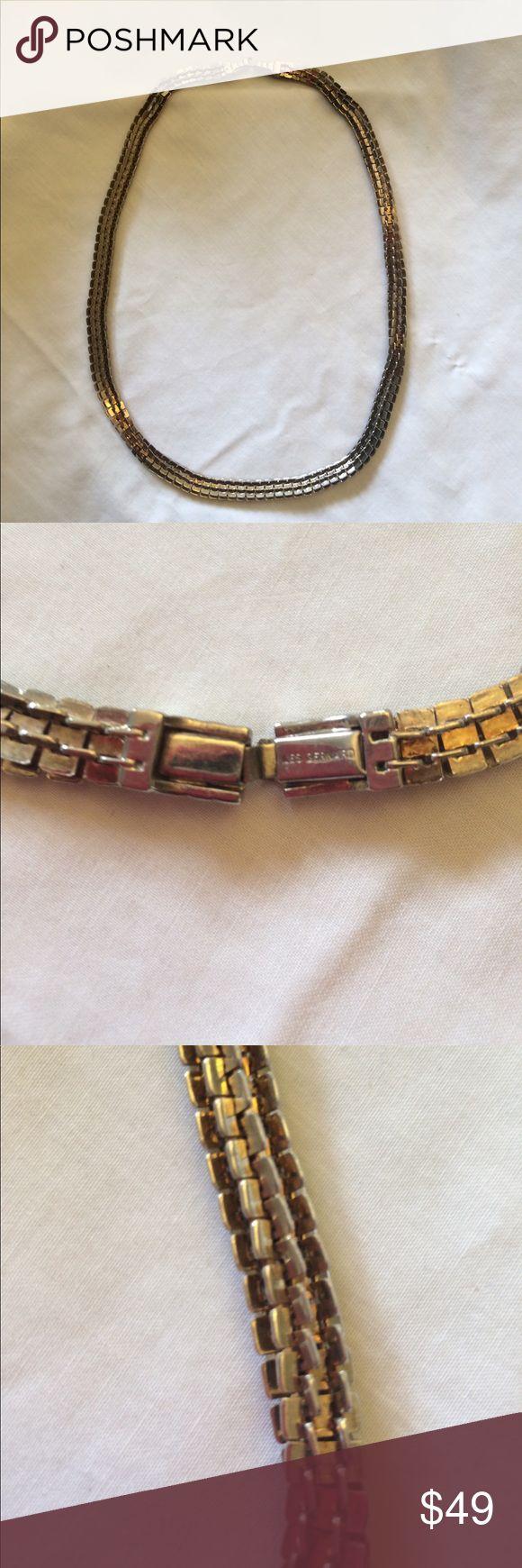 Les Bernard vintage box link necklace Vintage Les Bernard box link necklace. High quality costume jewelry maker. Les Bernard Jewelry Necklaces