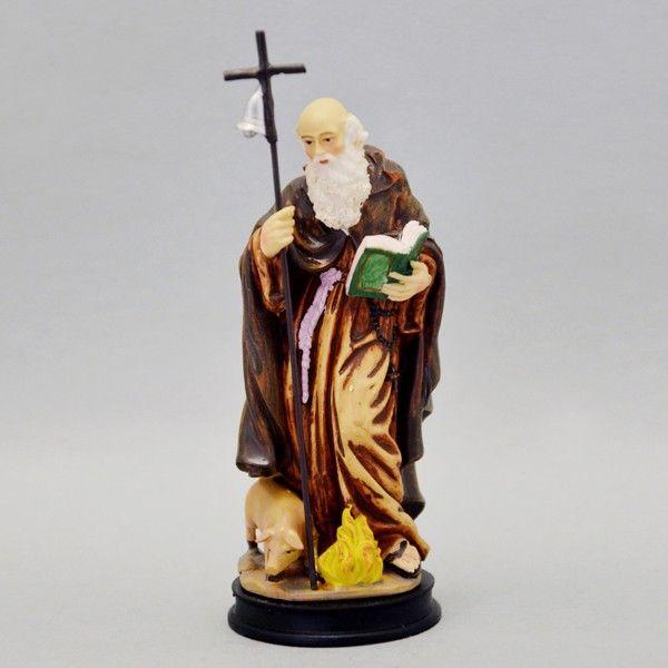 Statua Sant'Antonio Abate #statua #santanonioabate #myriamartesacra  http://www.myriamartesacrastore.it/statue-santi/3159-statua-sant-antonio-abate.html
