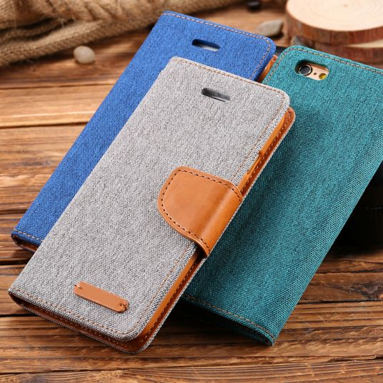 Cloth Skin Leather iPhone 6/6S 6/6s Plus Protective Case