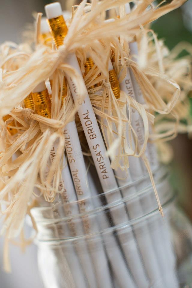 Bridal Shower Pencils Photo By Duke Photography Wedding Favors Prett
