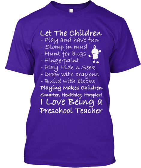 Love Teaching Preschool? This Is For You   Teespring