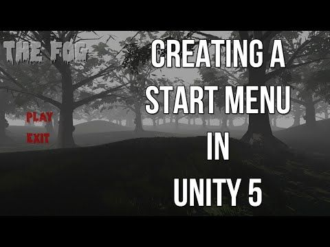 Creating a Start Menu in Unity 5 - YouTube