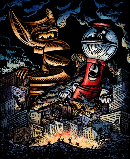 99 best images about mystery science theater 3000 on for Tom servo tattoo