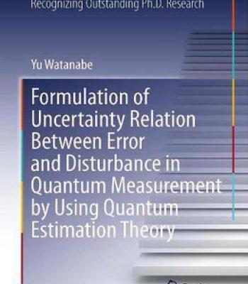 Formulation Of Uncertainty Relation Between Error And Disturbance In Quantum Measurement... PDF