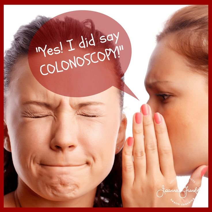 Preparing for and Recovering from a Colonoscopy (While on