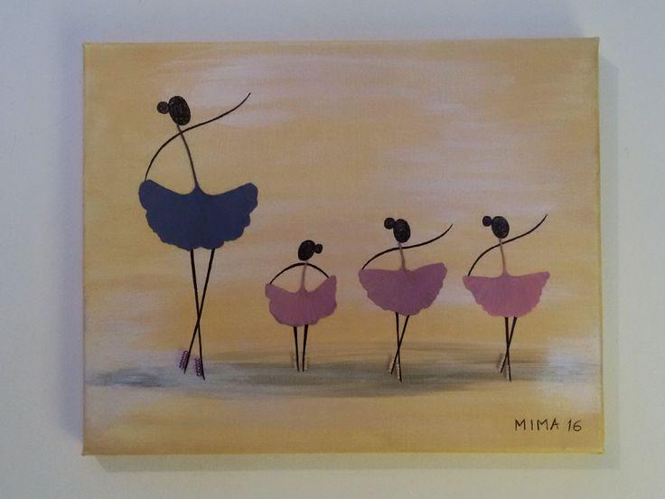 Pink ginkgo Dancers