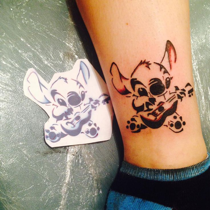 Stitch tattoo                                                                                                                                                                                 More