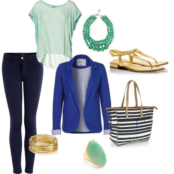 """Smart Casual Work Outfit"" by ronnieperrett on Polyvore"