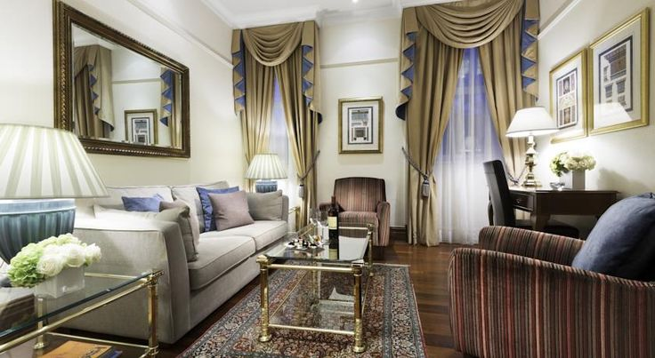 Only from Buckingham Palace, St. James' Court, A Taj Hotel, London is a four-star hotel in central London. The 338 rooms offers a mix of contemporary and classic accommodation, complete with three excellent restaurants and two bars. Find out more: http://bit.ly/1H6RI22