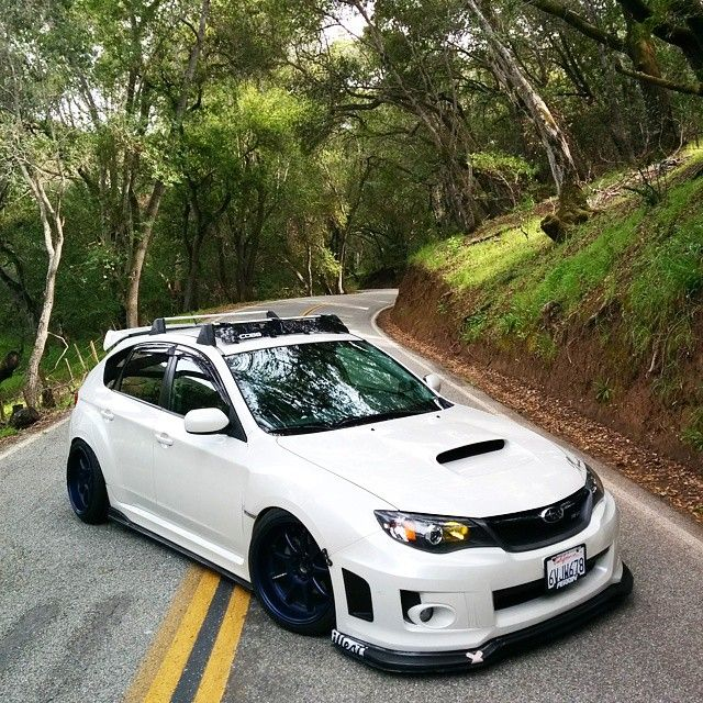 Subaru Impreza hatchback another dream car I'd love