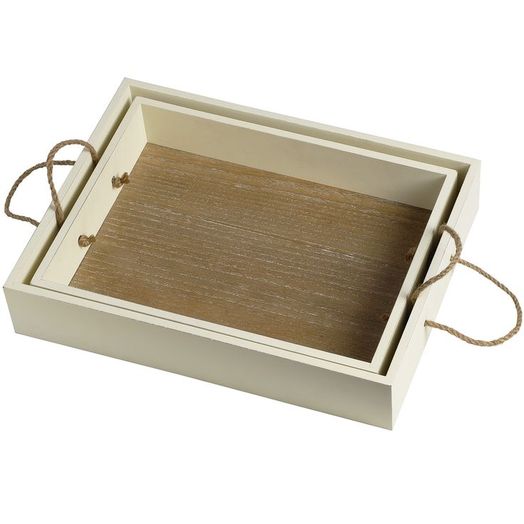 Set of 2 Provence Trays | From Baytree Interiors