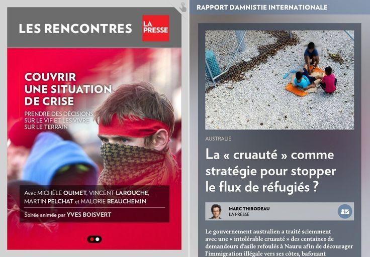 Réfugiés : la « cruauté » comme stratégie ? - La Presse+