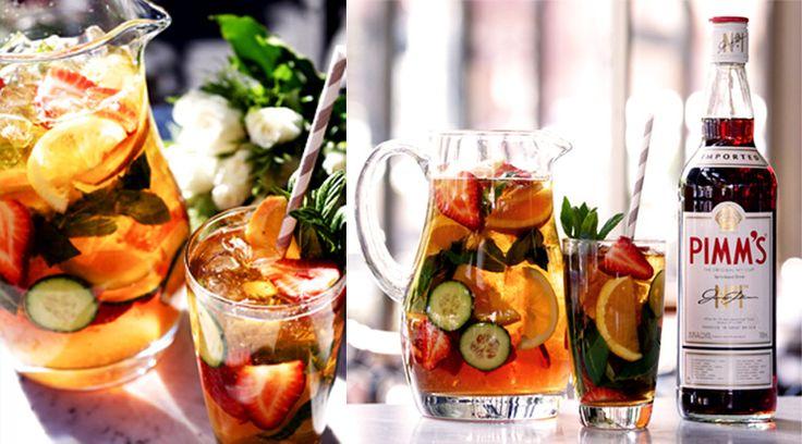 Pimm's — марка алкогольных напитков, производится компанией Diageo. Традиционный английский крюшон. Обычно употребляется в коктейлях с лимонадом в пропорции от 1/3 до 1/5 со льдом. Также в него добавляют лимон/лайм, апельсин, свежий огурец, клубнику, мяту. Все мелко нарезают и подают коктейль со льдом. Фруктовый крюшон был изобретен Джеймсом Пиммом в 20-х годах XIX века. В настоящее время существует несколько разновидностей напитка: Pimm's № 1 (т. н. «летний» — классический Pimm's); Pimm's №…
