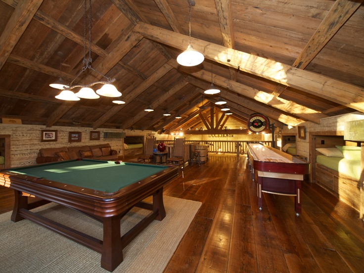Man Cave Shed Loft : Man cave in the barn dream house pinterest men