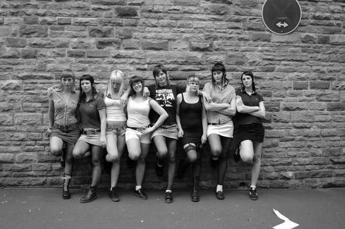 Skinhead girls --- I love how they dress :x