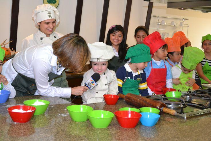 Curso de niños, Academia de Cocina Verde Oliva - Noticias Caracol