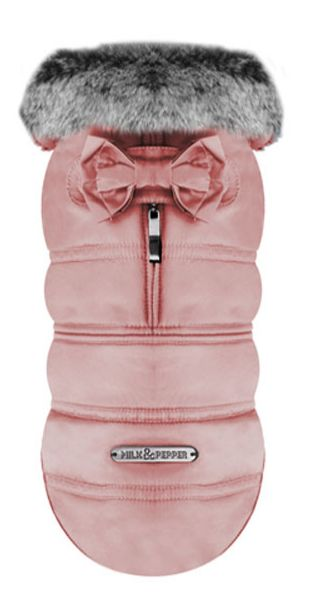 @Ruth Murdock you should sooo get this for Ginger!   Halia Blush Dog Coat by Milk & Pepper
