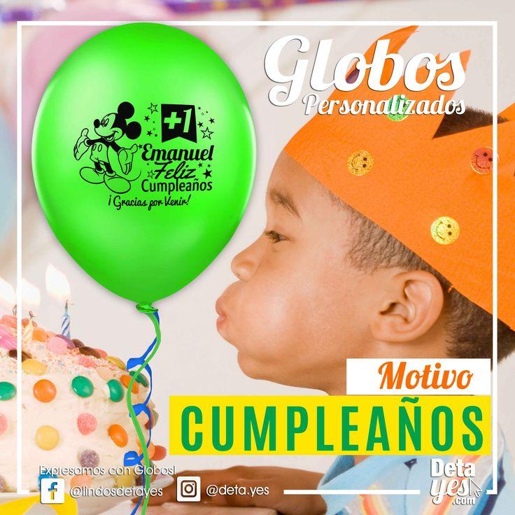 Globos Personalizados para Fiesta de Niños, Motivo Mickey,  somos @deta_yes  , Envíos a Toda Colombia, Pedidos 31856657519