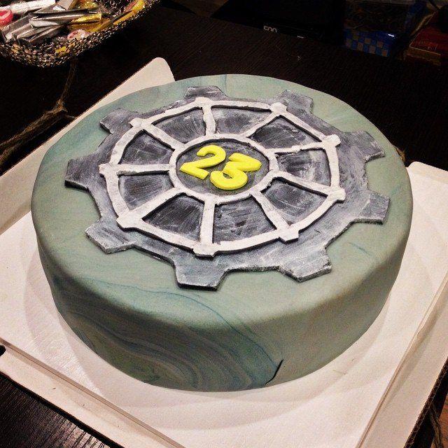 Fallout New Vegas or just 3 Vault-Tec Cake Inspiration