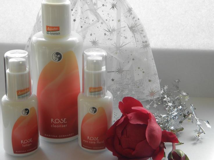 Martina Gebhardt bio cosmetics - ROSE range