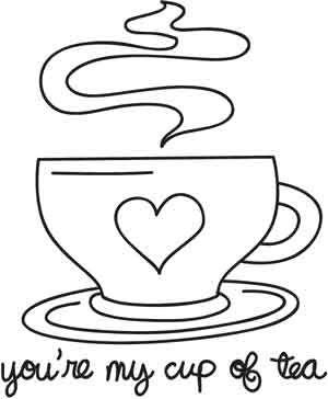 You're My Cup of Tea design (UTH3150) from UrbanThreads.com a very good mug rug motif !