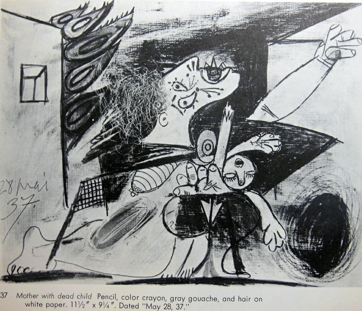 Picasso Guernica Sketches 32 best Images of Pica...