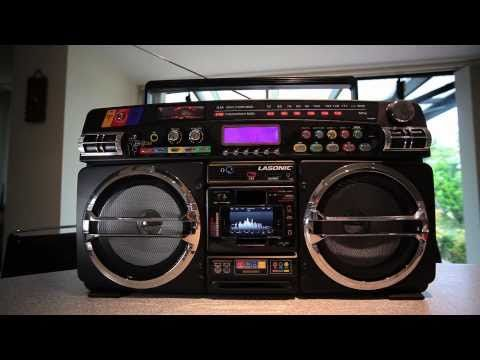 Lasonic i 931x ghetto blaster the ultimate iphone retro boombox definite - Lasonic ghetto blaster i931x ...