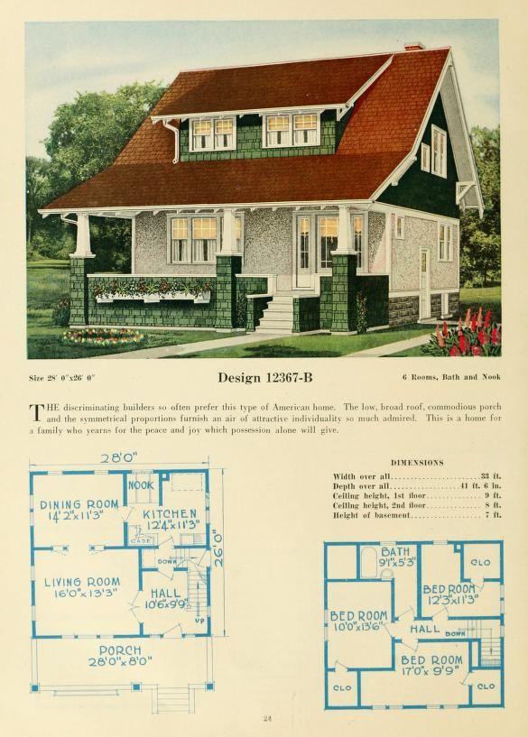54 best Antique House Plans images on
