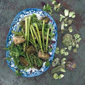 Artichokes and Asparagus #Vegetarian #Salad #SouthAfrica