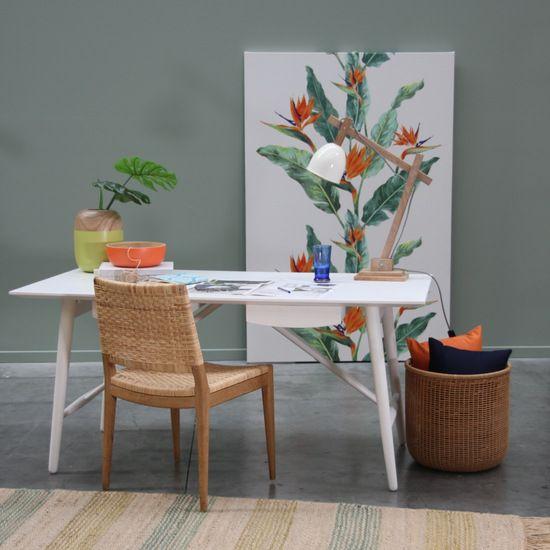 GDK06W Scandic Desk White