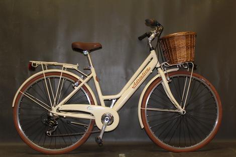 #bicicleta Adriatica Sity Retro en crema @avantum