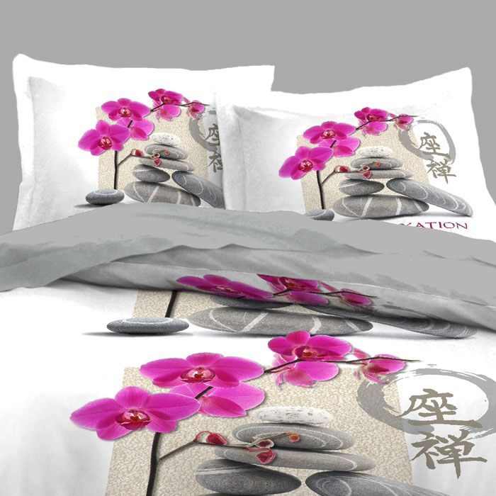 17 best images about housses de couette zen on pinterest natural pink and nature. Black Bedroom Furniture Sets. Home Design Ideas
