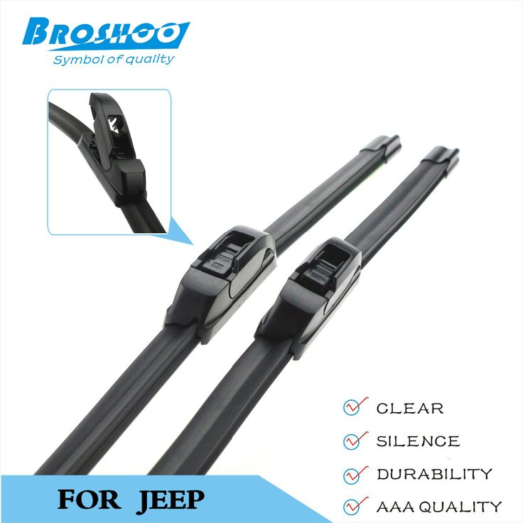 Car Wiper Blade for Jeep Commander,18+18inch soft rubber Auto part windscreen wiper blades Car accessories Free shipping 1Pair #Affiliate