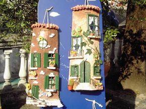 Oltre 25 fantastiche idee su tegole su pinterest - Tegole decorate in rilievo ...