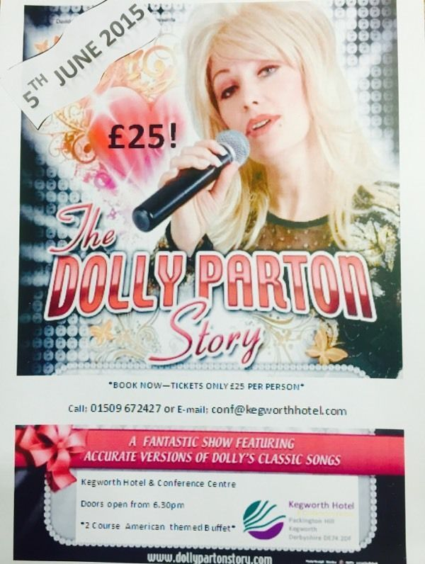 DOLLY PARTON STORY | United Kingdom | Gumtree #bookanentertainer