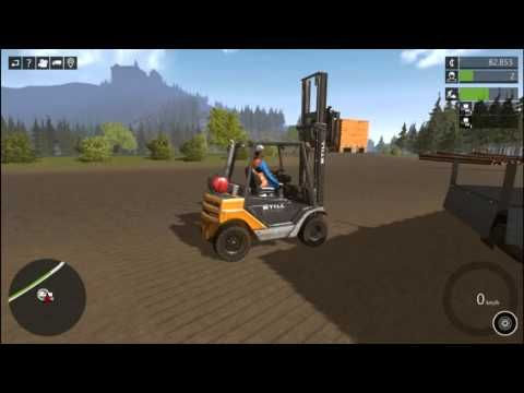Construction Simulator 2015, Forklift, Truck, Old MacDonald Nursery Rhyt...