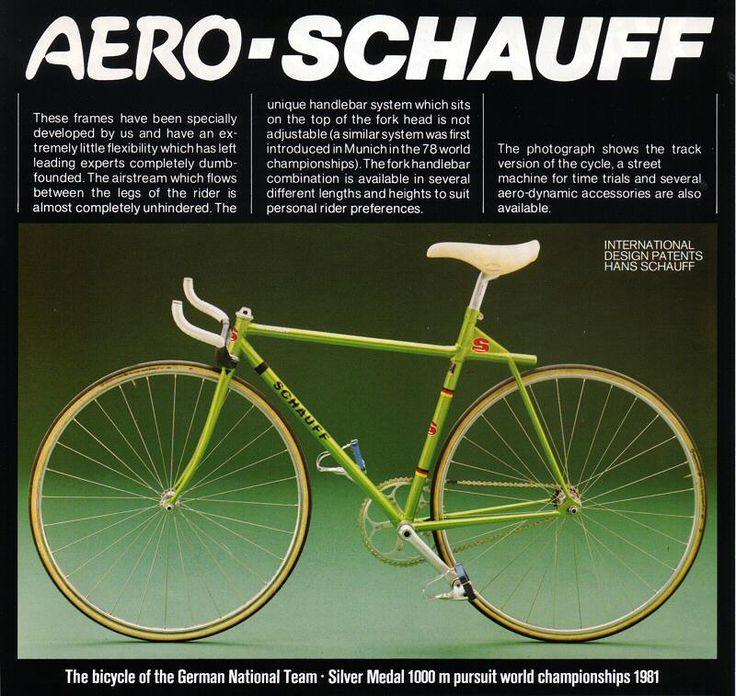 AeroSchauff Racing bikes, Bicycle types, Sports cycle