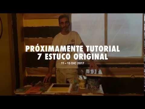 Próximamente Tutorial 7: Como Aplicar Estuco Original 1995