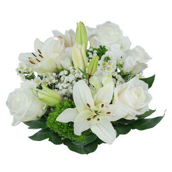 White Mountain Bouquet (Grower's Choice)- 10 Bouquets, 10 ready-made hand tied bouquets  $100 @ Costco