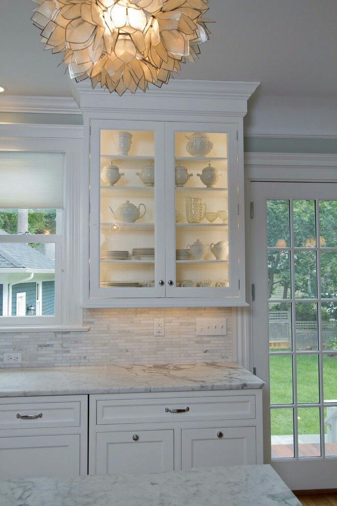 Alpine White Cabinets designed by James Kershaw CKD of James Kershaw Associates in North Haledon New Jersey for this transitional style kitchen. & 7 best Inset/ No Bead Style Cabinets images on Pinterest | Cabinet ... pezcame.com