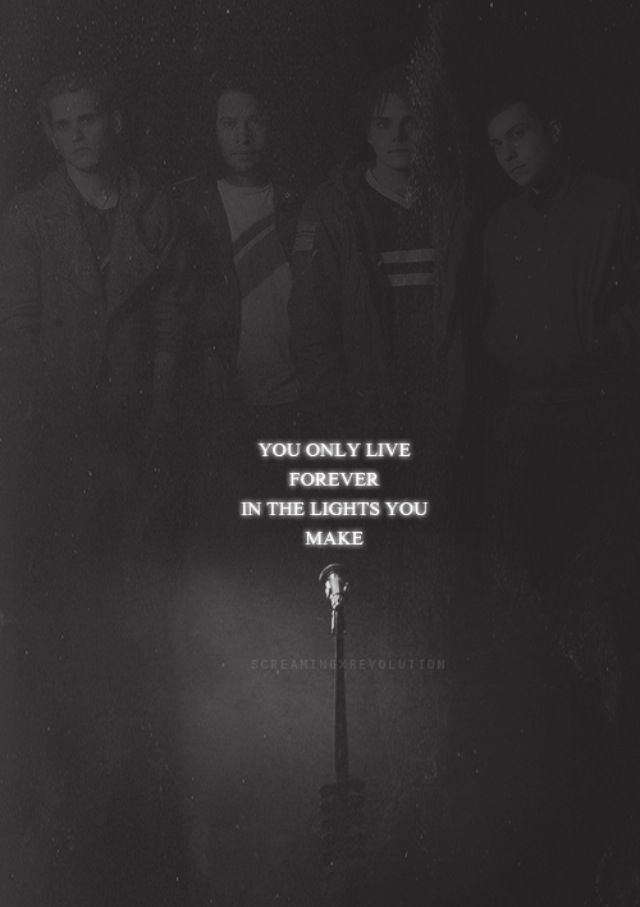 My Chemical Romance | kids from yesterday quote